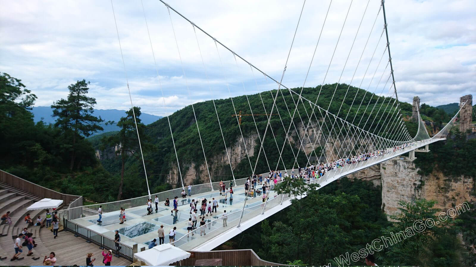 China Zhangjiajie Grand Canyon Glass Bridge