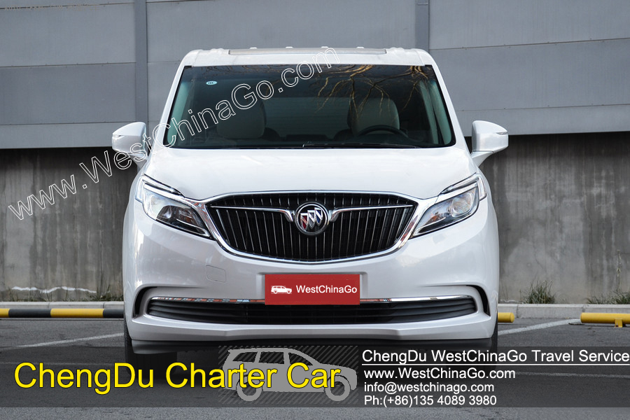 chengdu jiuzhaigou CHARTER CAR, car rental with driver