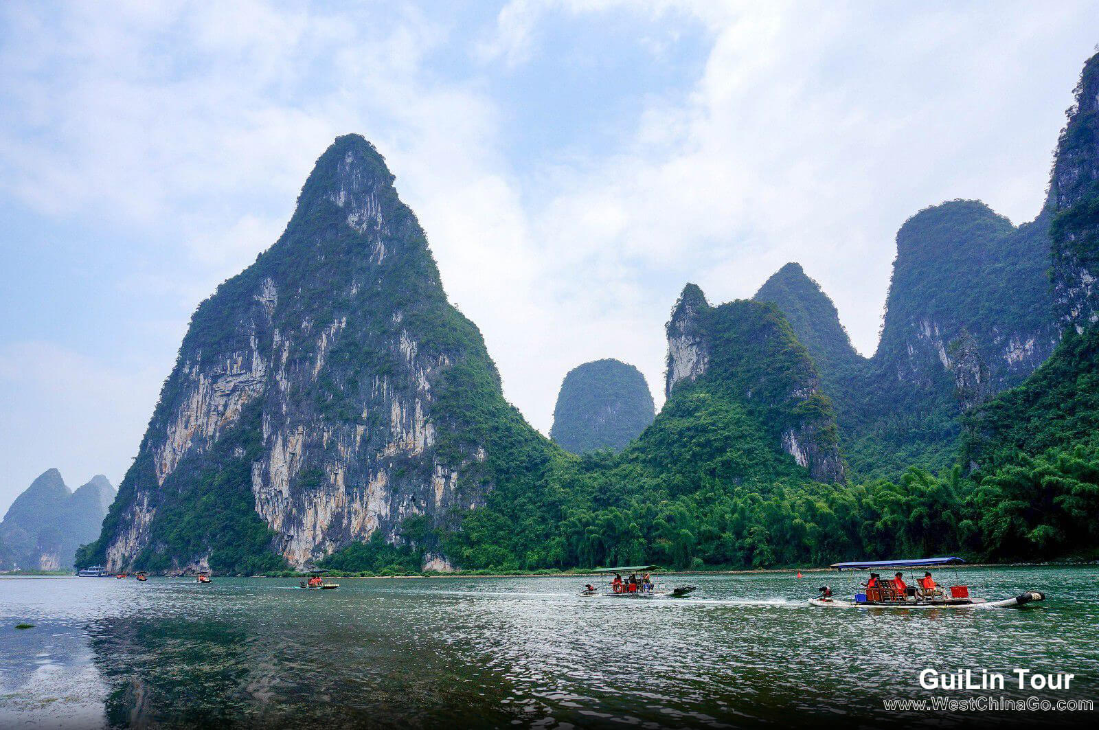1Day Guilin Li River Boat Cruise(3 Star)