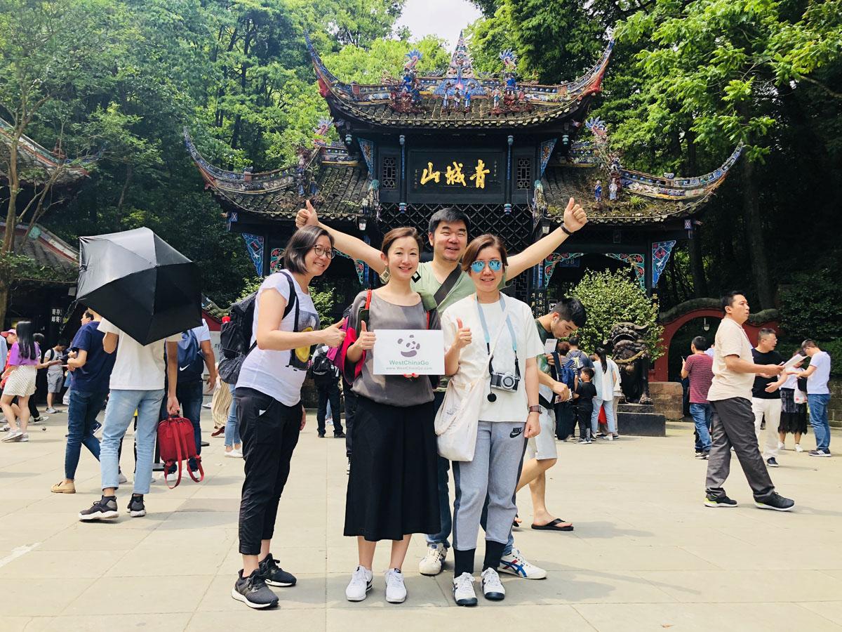 dujiangyan mount qingchengshan tour