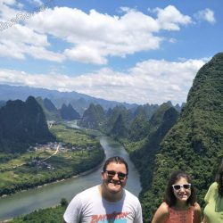 china guilin tour: xianggong hill