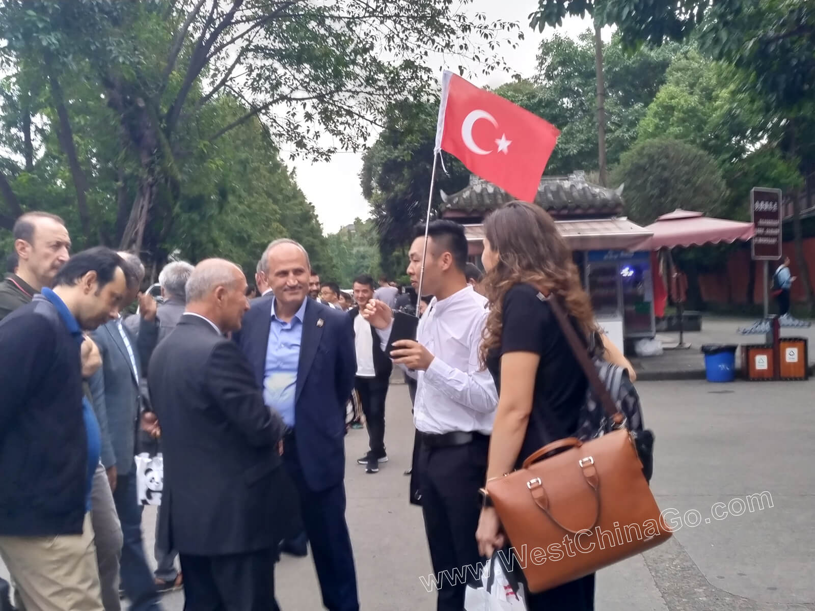 Turkey Minister of Transport ChengDu Tour