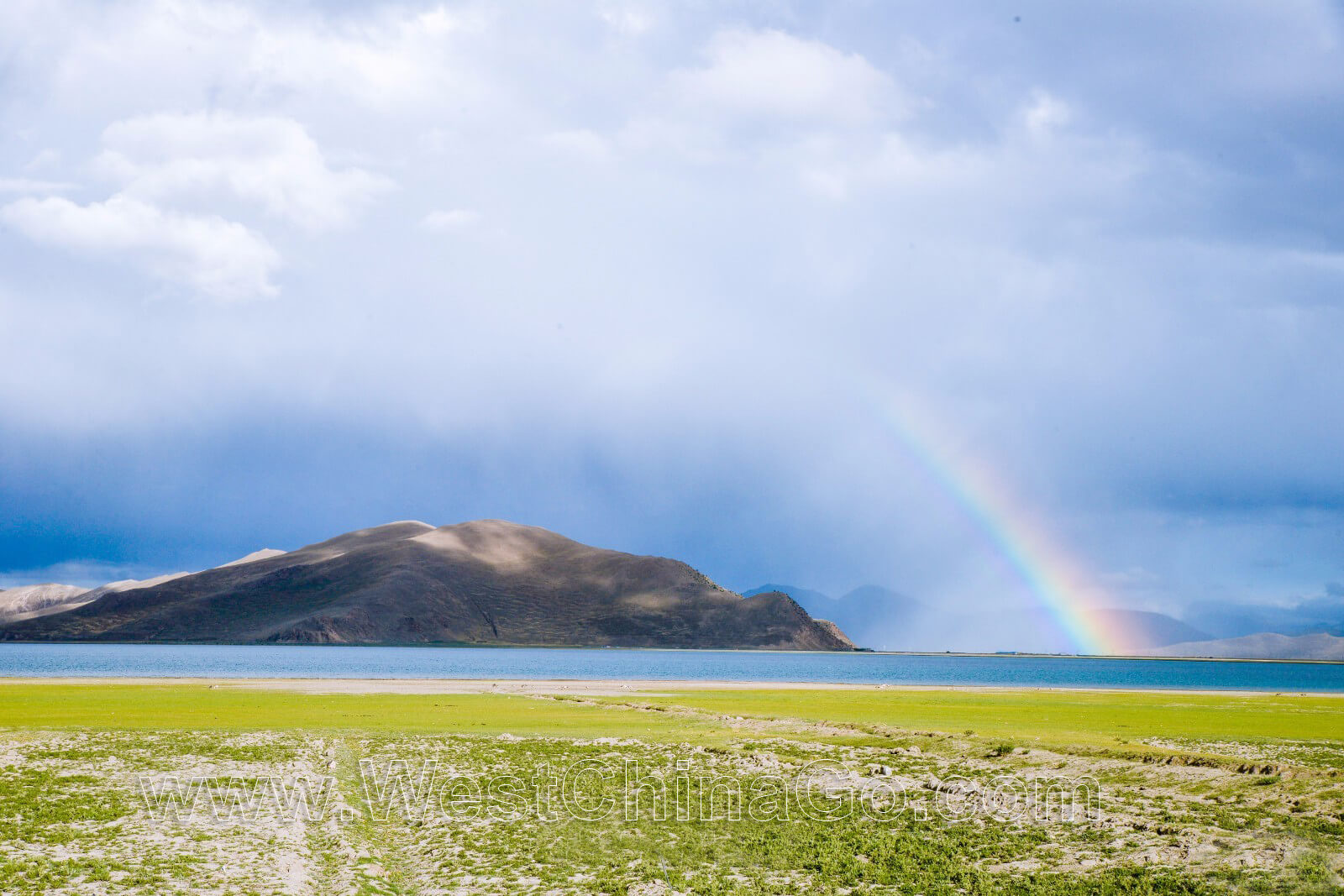 Tibet Yamdrok Tso Lake:Yamdrok Yumtso