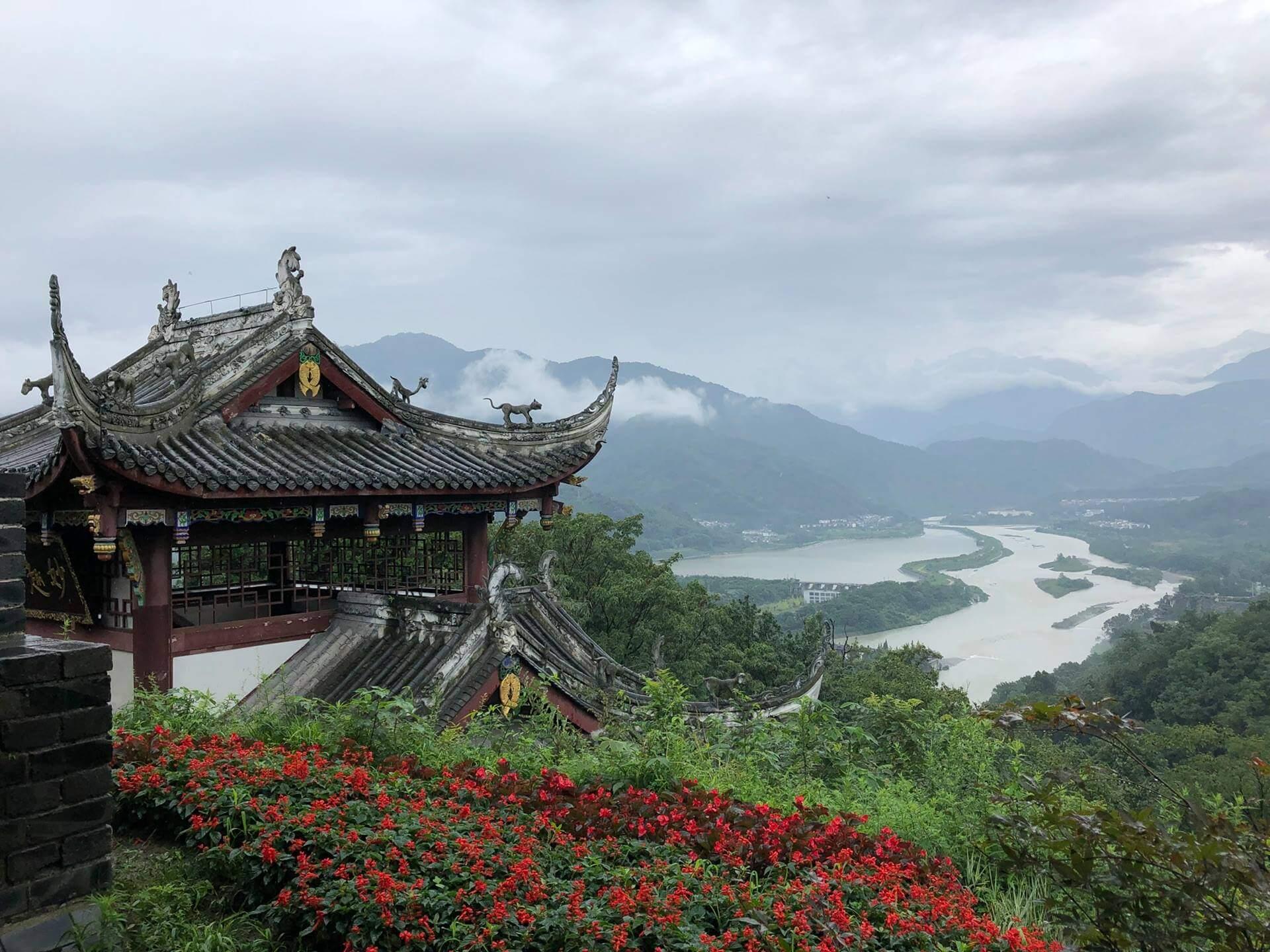 china dujiangyan irrigation project