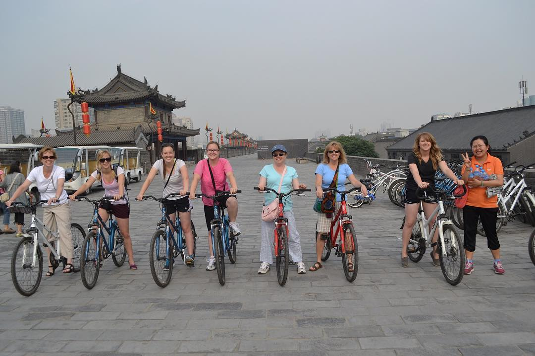 XiAn City Wall tour