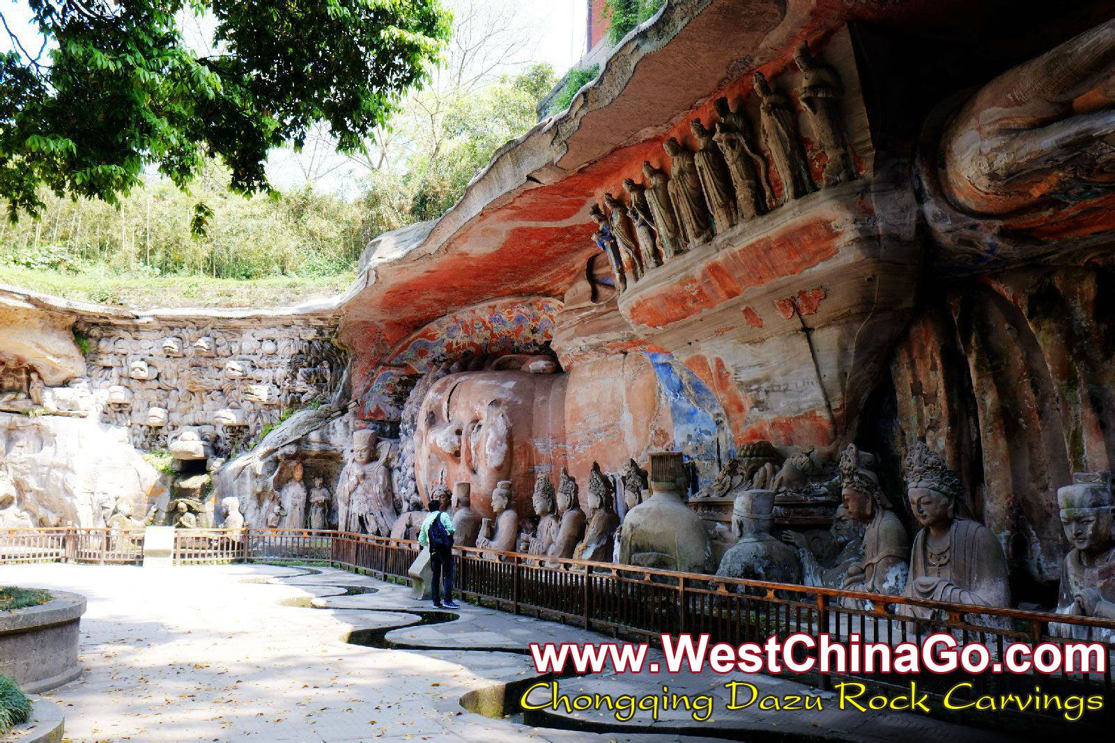 ChongQing dazu rock carvings car rental with driver