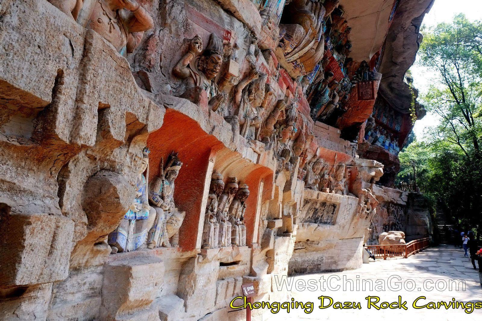 China Chongqing Dazu Grottoes