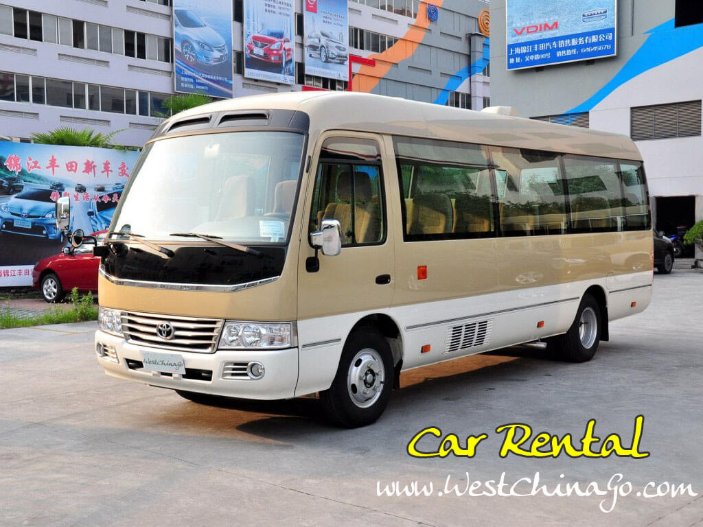 chengdu car rental with driver, charter car