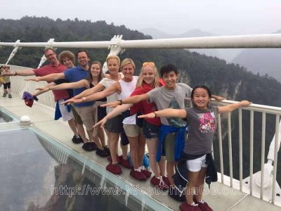 zhangjiajie glass bridge tour