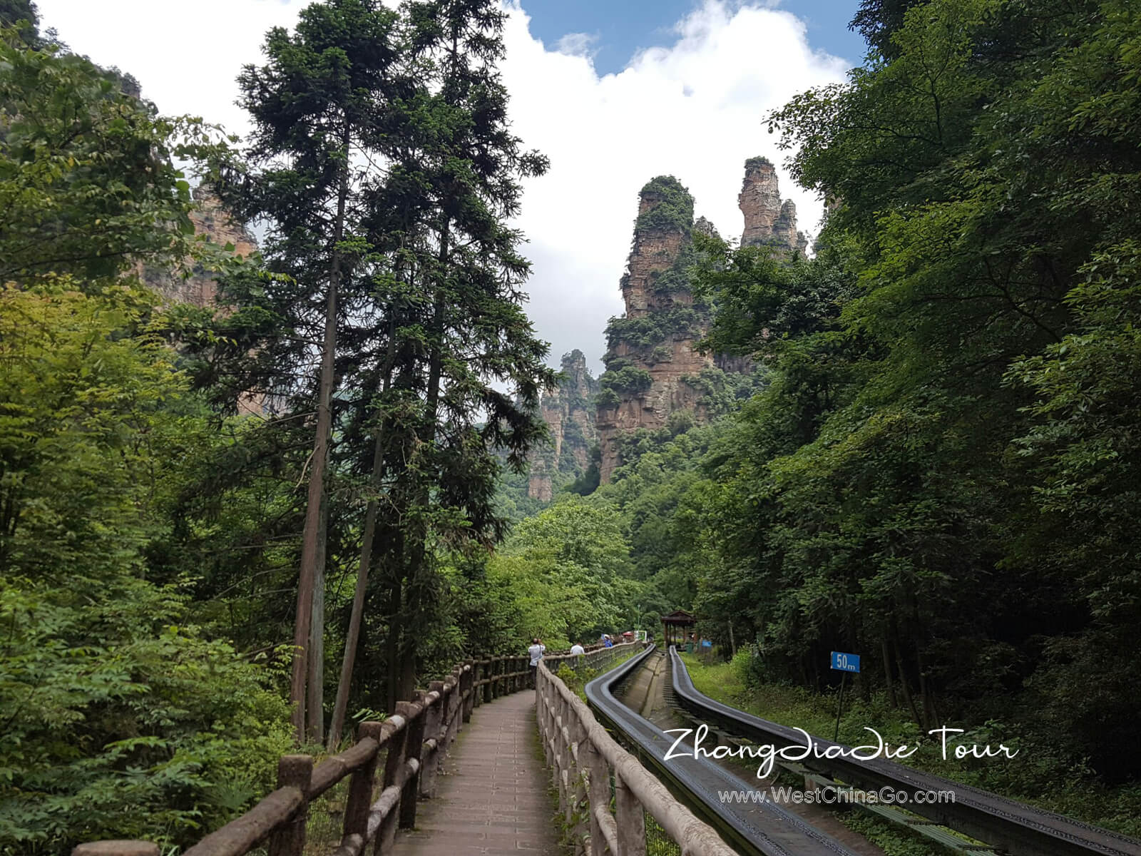 china zhangjiajie ten mile gallery