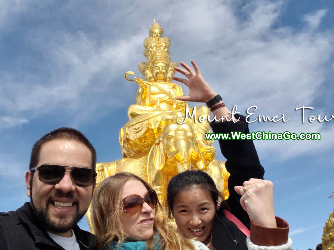 chengdu mount emei day tour
