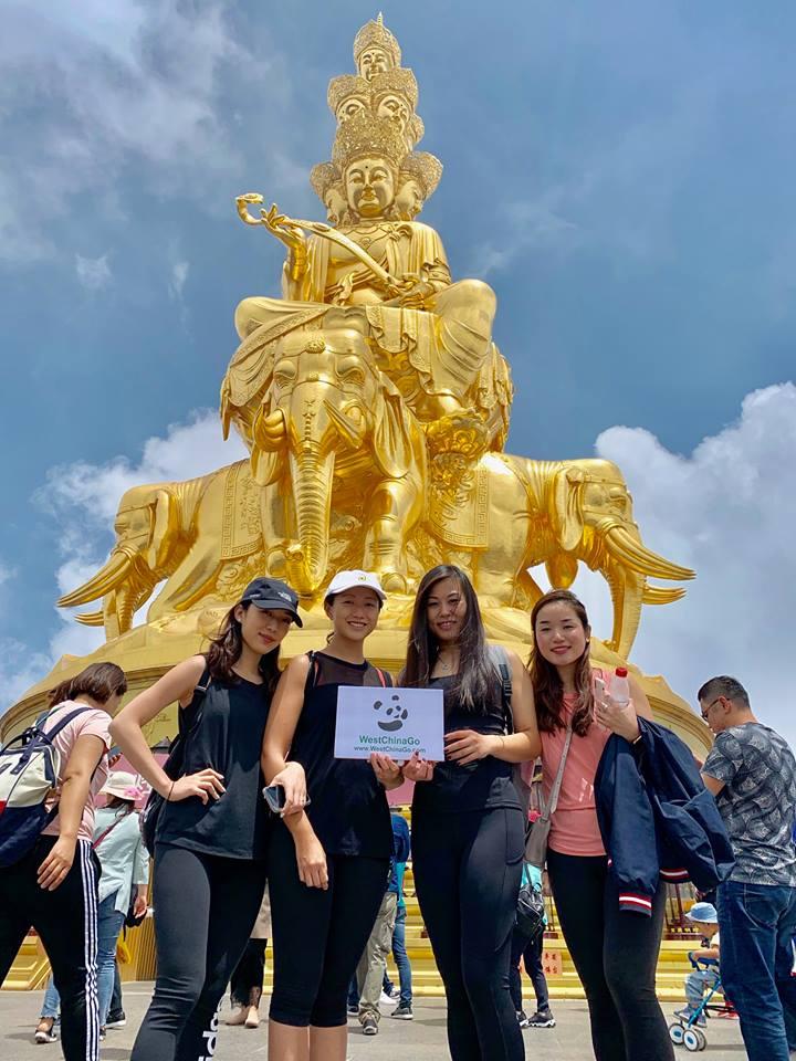 chengdu mount emei tours