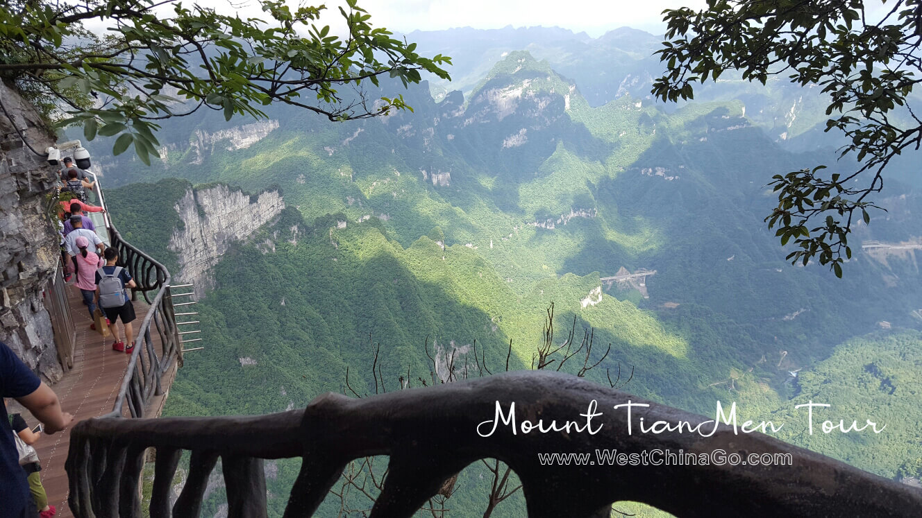 How to plan Mount TianMen Tour