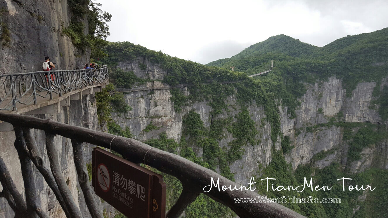 China ZhangJiaJie mount tianmen Tours