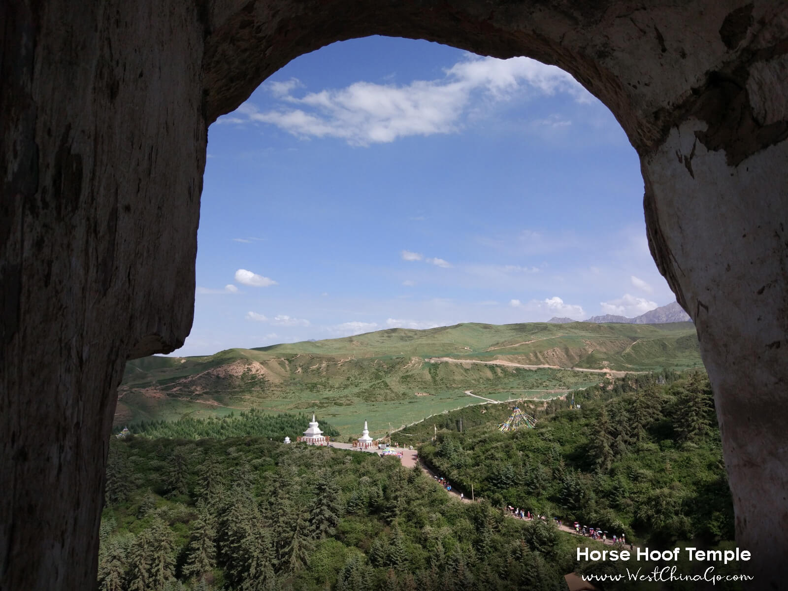 ZhangYe Mati Temple